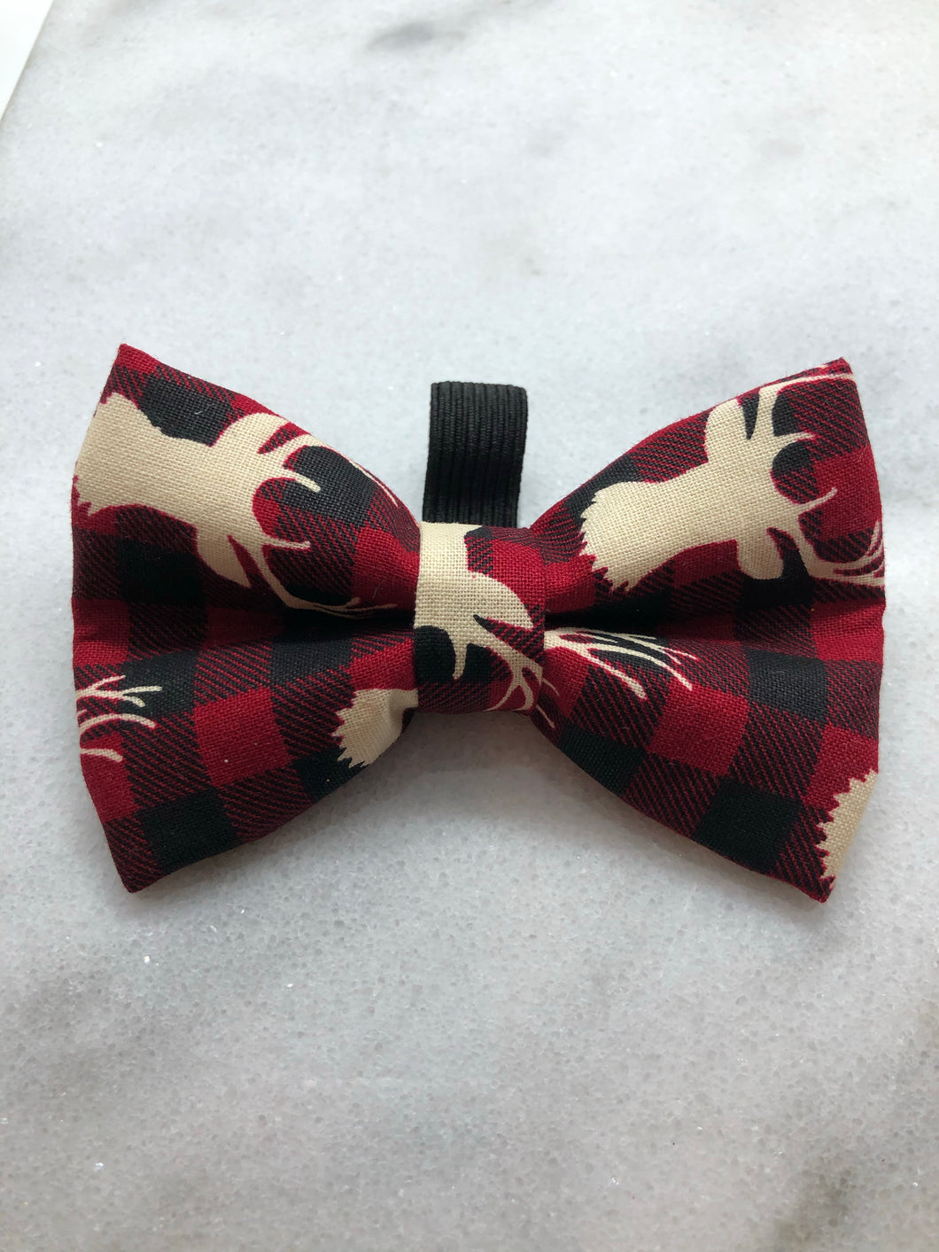 Bucks on Buffalo Plaid