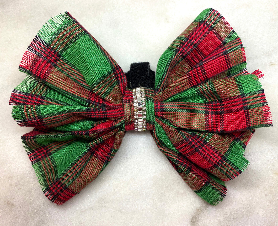 Christmas Delivery Collar Bow