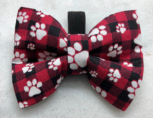 Buffalo Plaid Paws