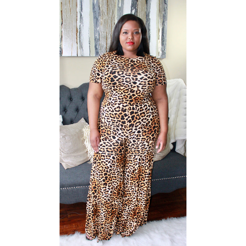 Tracy Leopard Print Set