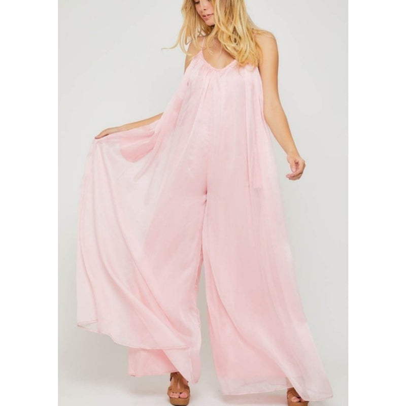 Pink on The Weekend Jumpsuit