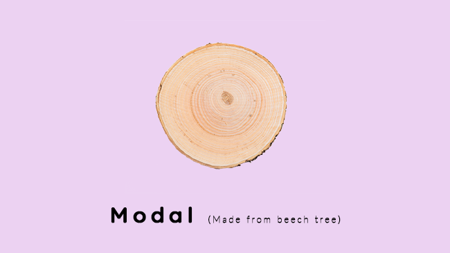 Modal for fabric and sensitive skin