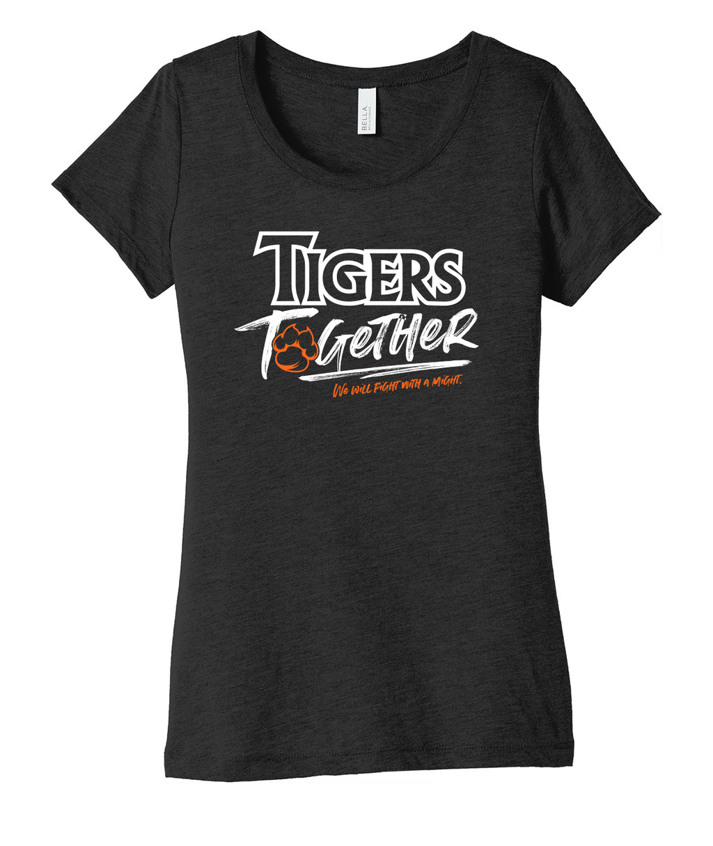 Hillside Tigers Together Womens Triblend Tee