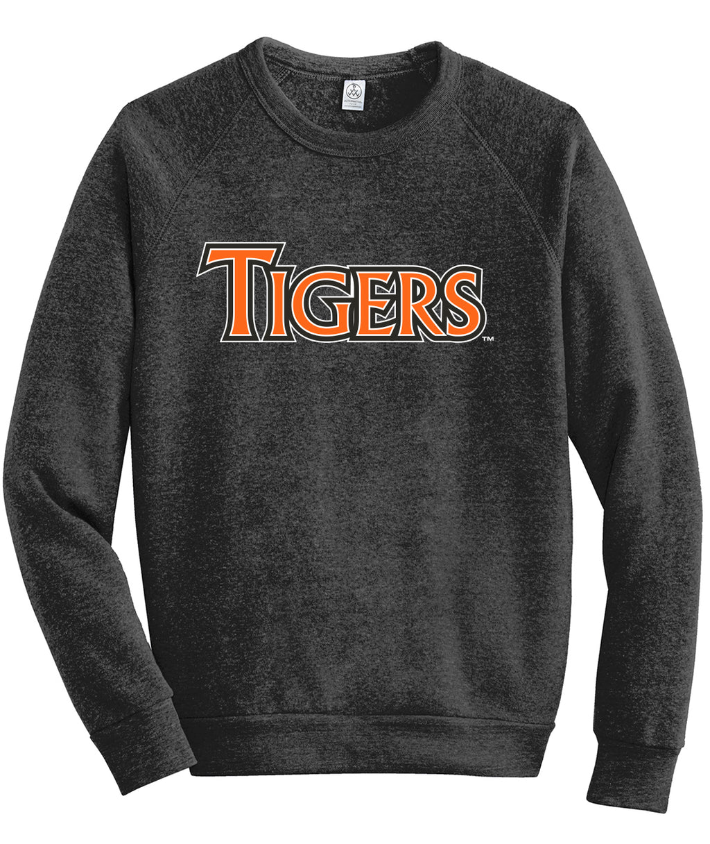 HIllside Tigers Raglan Sweatshirt