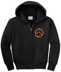 Jordan Creek Youth Fleece Full-Zip Hooded Sweatshirt