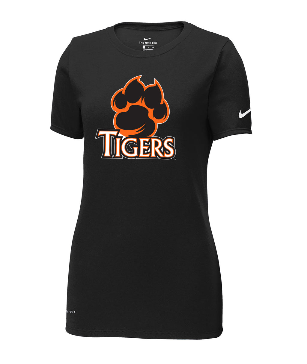 Tigers Womens Nike Dri-Fit Performance Scoop Neck Tee