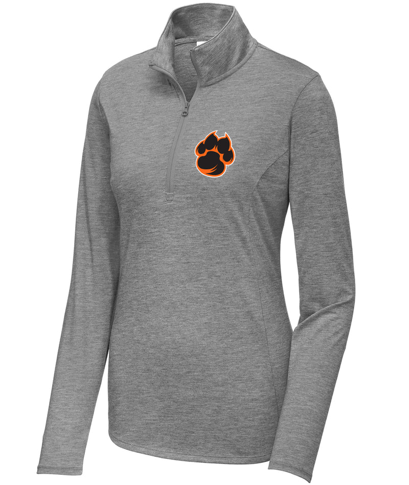 School Pride Womens 1/4 Zip Pullover