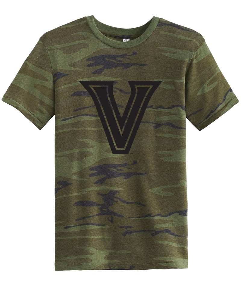 Midnight V Camo Mens Fitted Tee