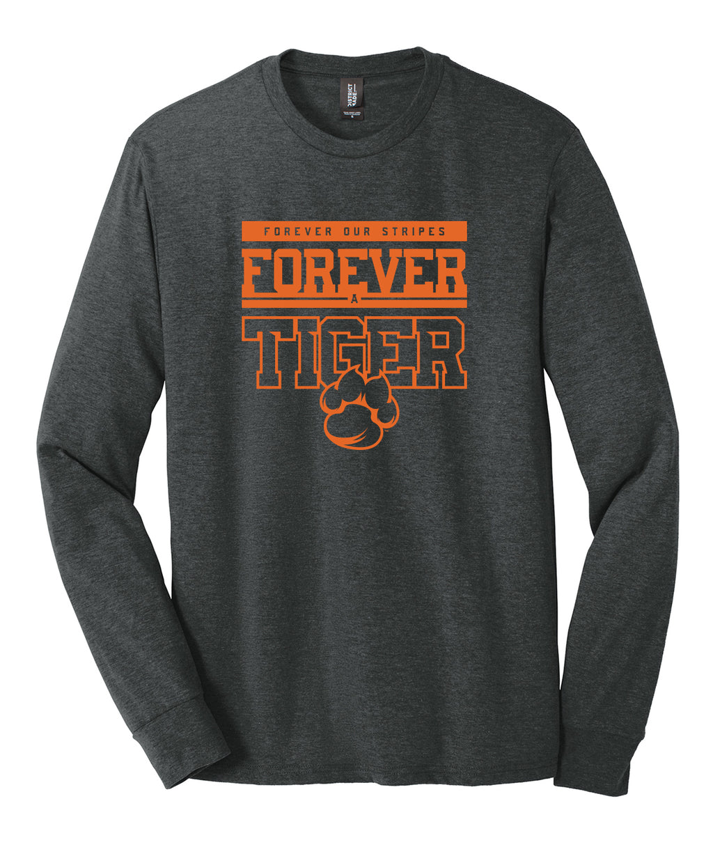 Forever A Tiger Triblend Long Sleeve Tee