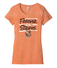 Forever Our Stripes Womens Triblend Tee