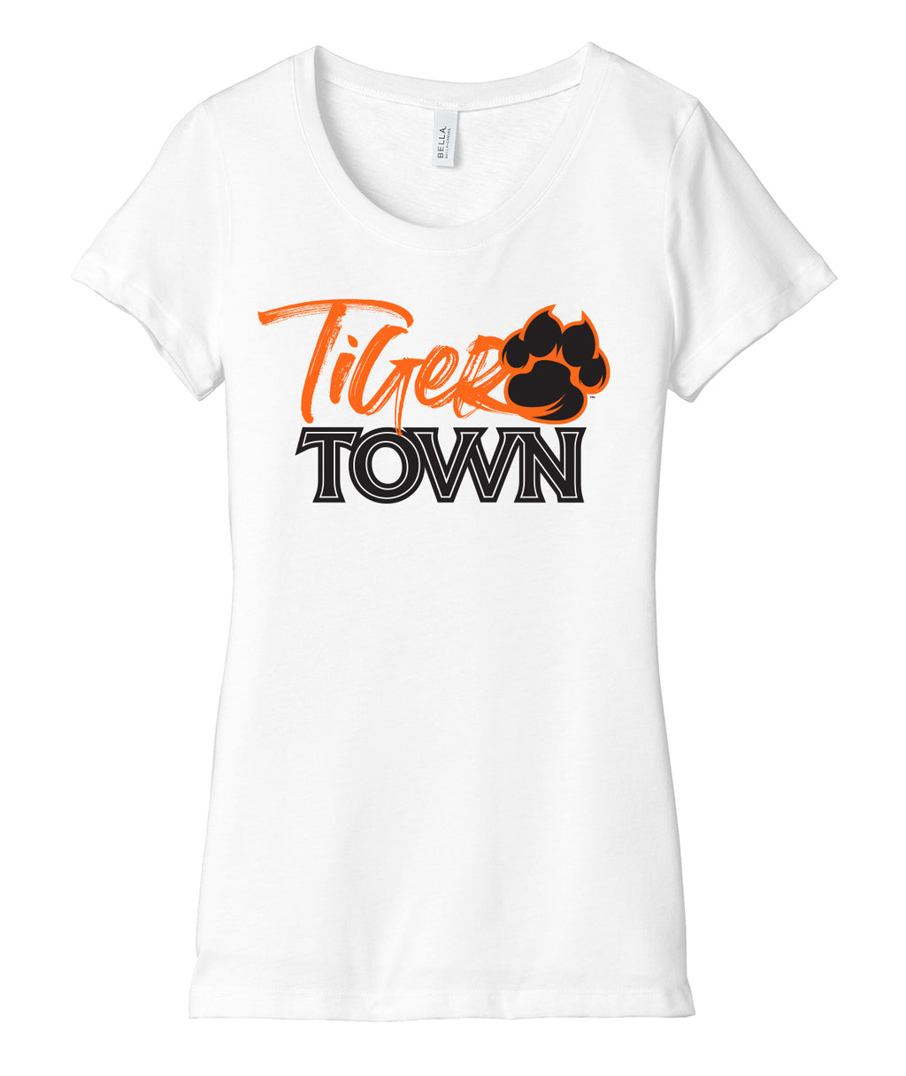 Tiger Town Womens Triblend Tee