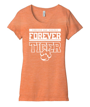 Forever A Tiger Womens Triblend Tee