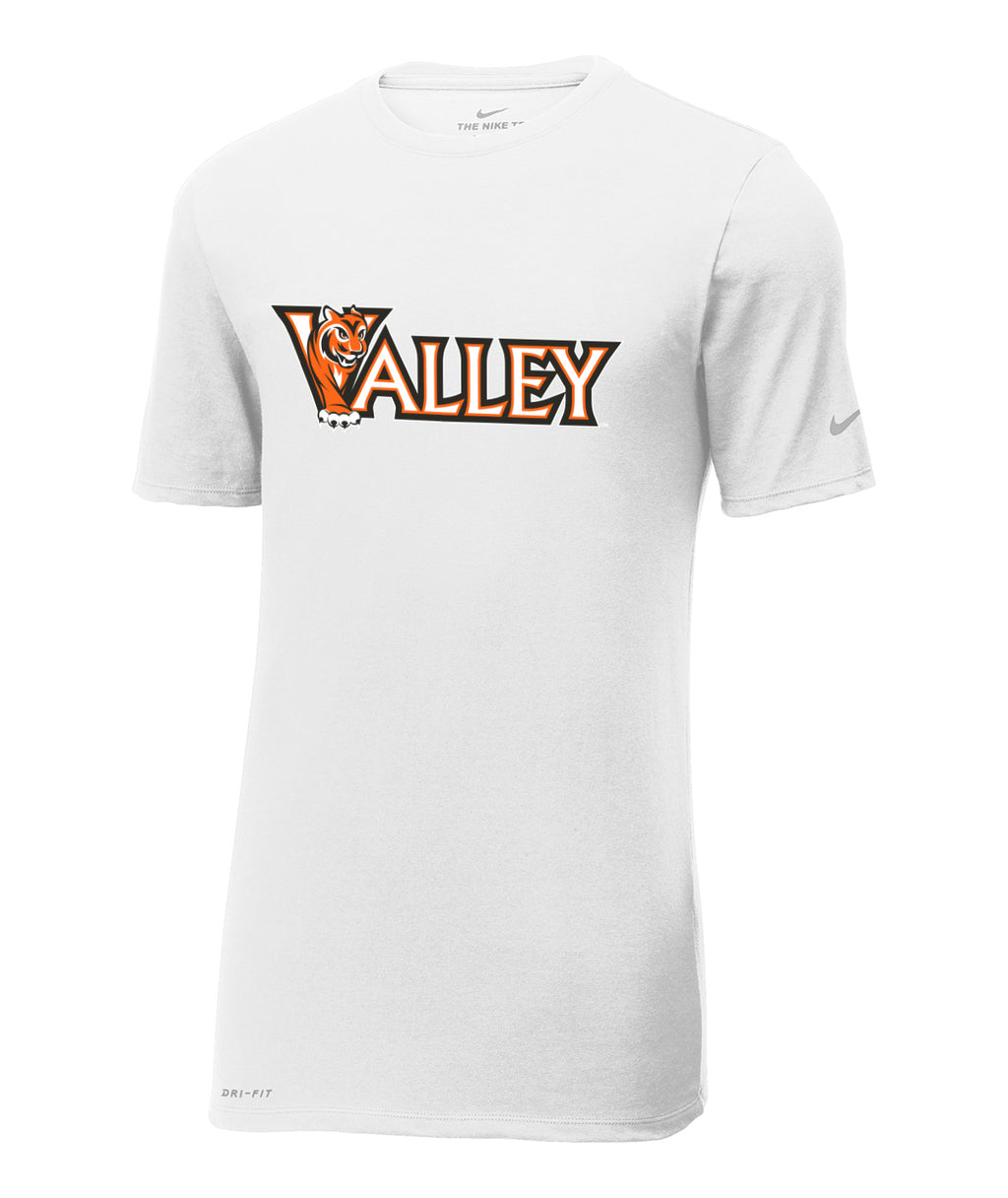 Valley Wordmark Nike Dri-Fit Performance Tee