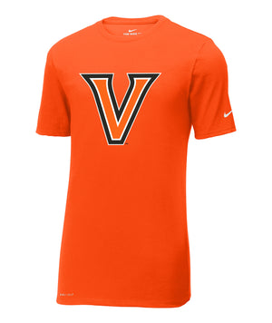 Orange V Nike Dri-Fit Performance Tee