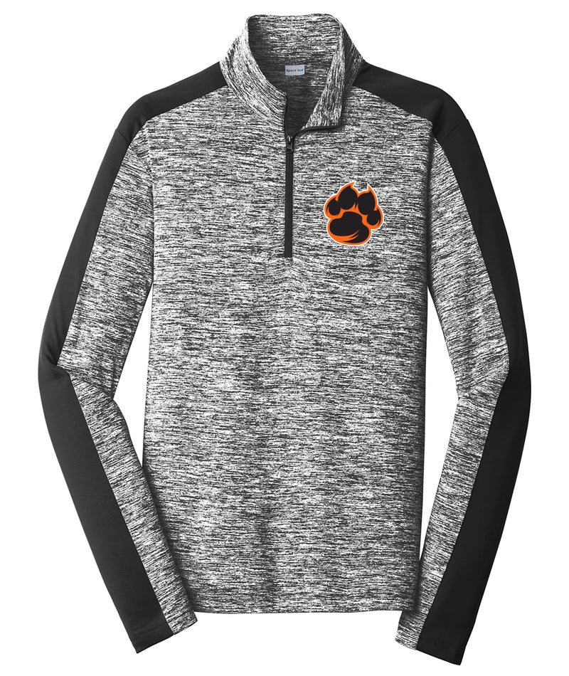Tiger Paw Colorblock Performance 1/4 Zip Pullover