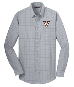 Valley V Plaid Dress Shirt