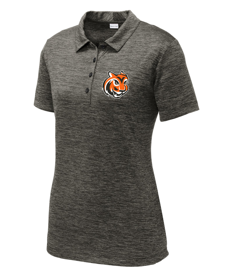 Tiger Head Womens Charged Performance Polo