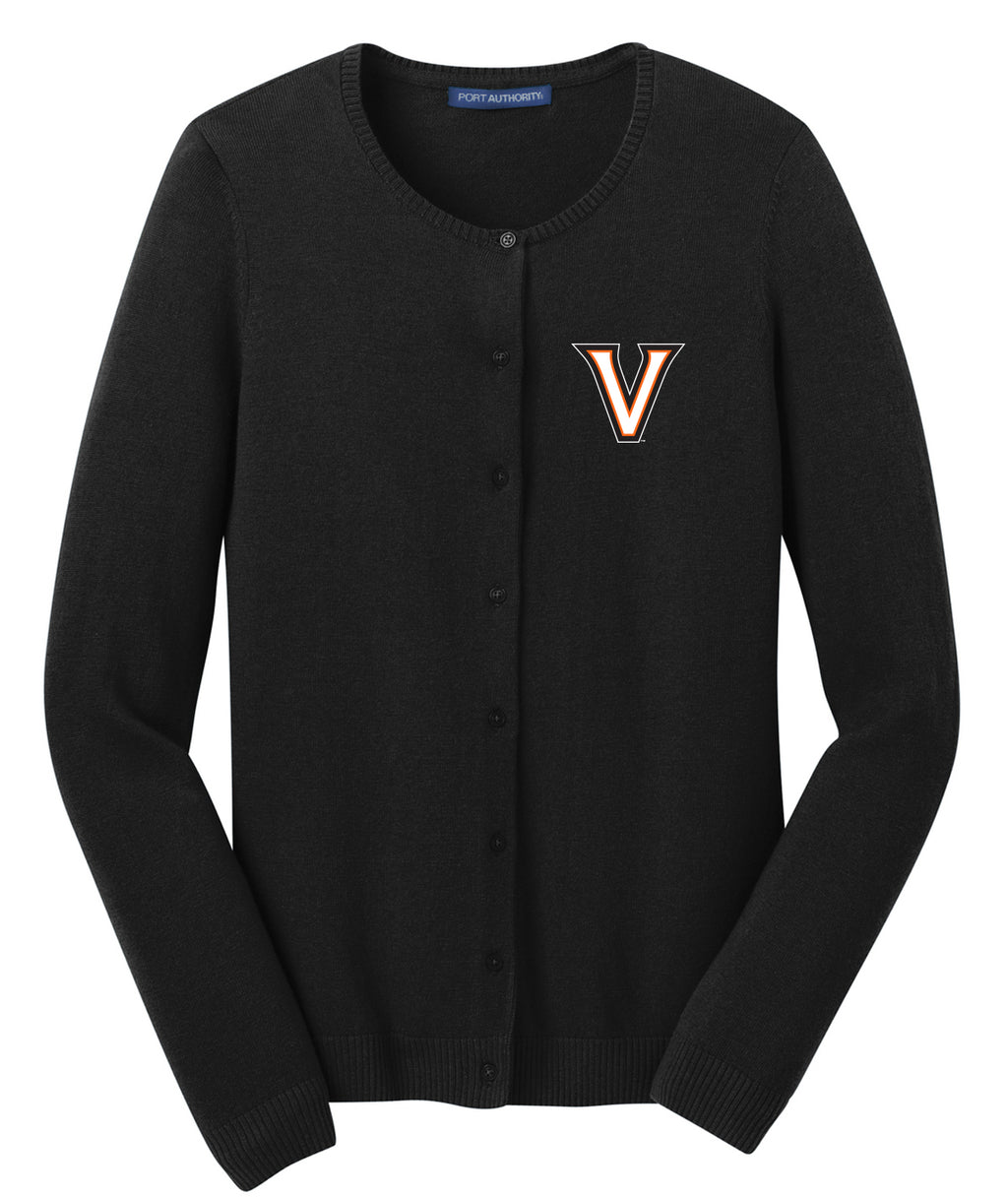 Valley V Womens Cardigan Sweater