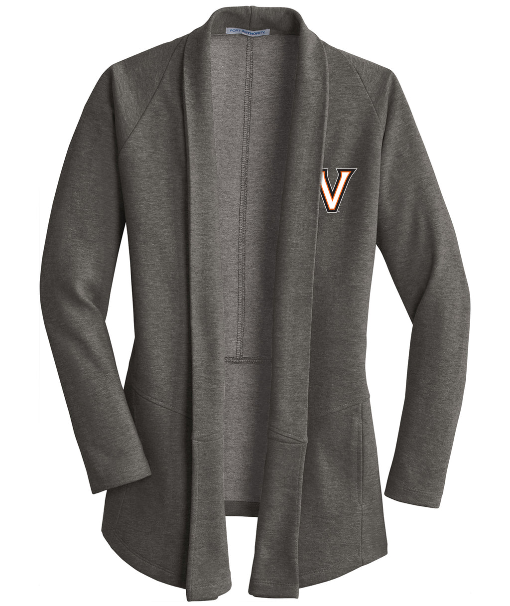 Valley V Womens Interlock Cardigan