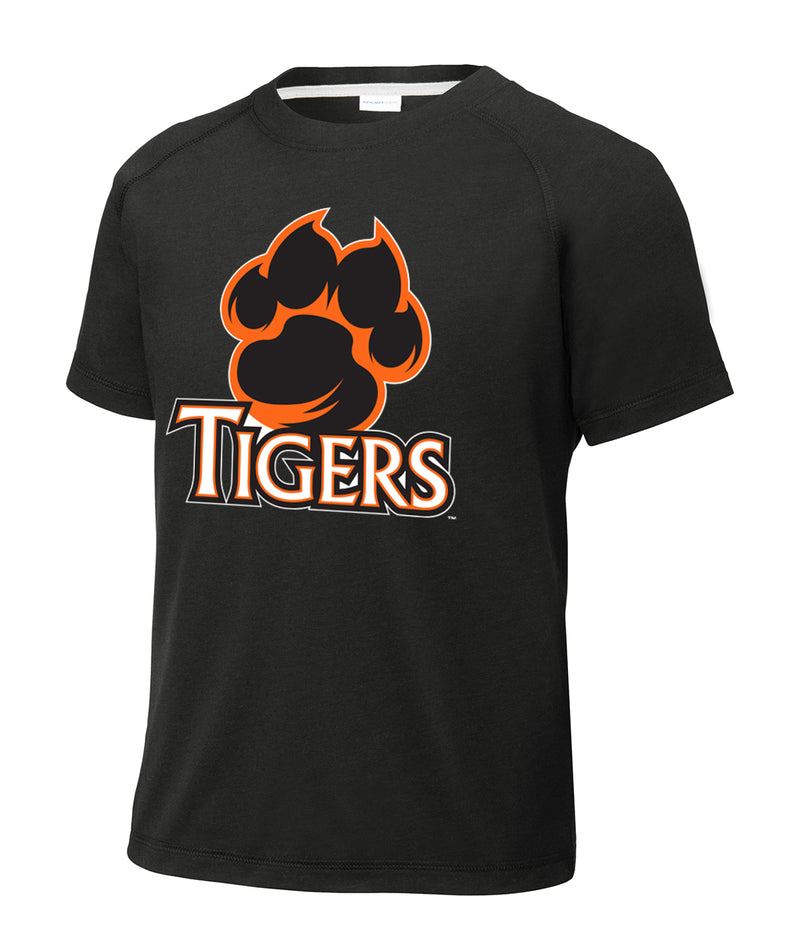 Tigers Youth Triblend Performance Tee