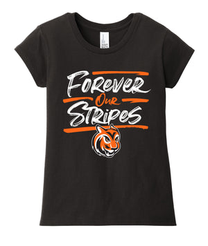 Forever Our Stripes Girls Tee
