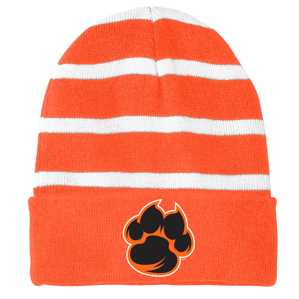 Tigers Striped Beanie