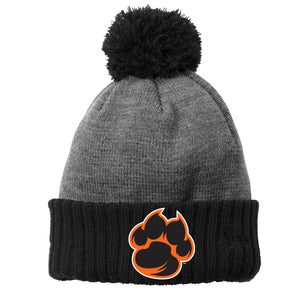 Tigers New Era Pom Cuffed Beanie