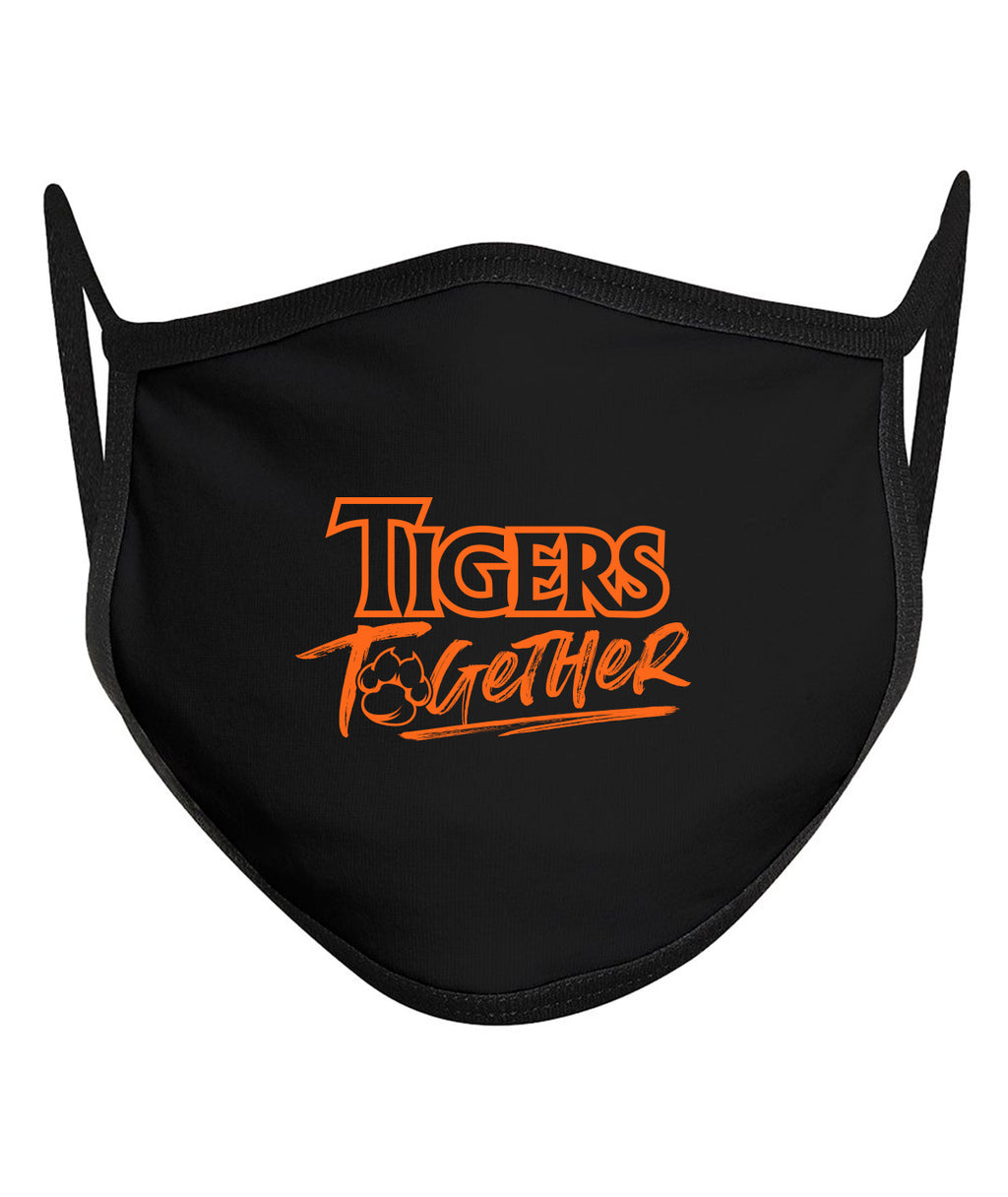 Tigers Together Customizable 3-Ply Face Mask