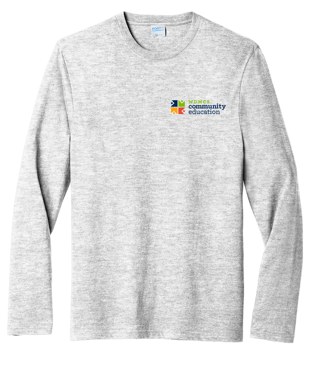 Community Ed Adult Soft-Style Long-Sleeve Tee