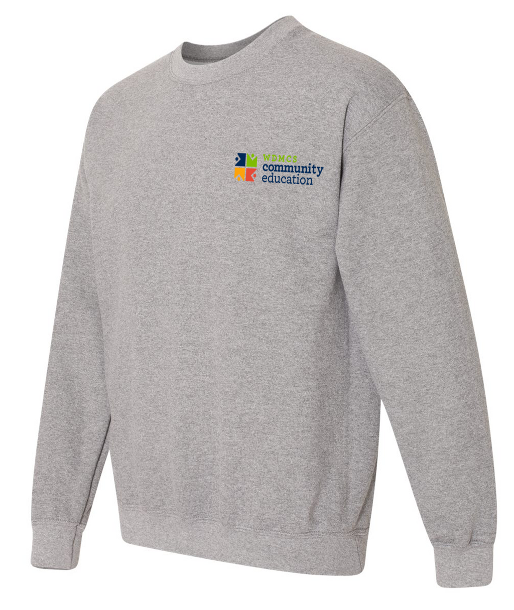 Community Ed Adult Crewneck Sweatshirt