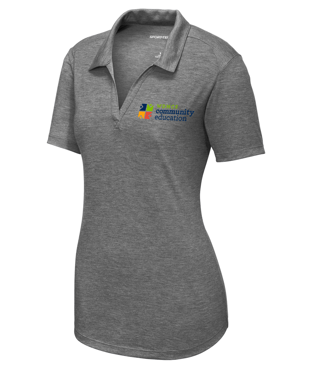 Community Ed Womens Performance Polo