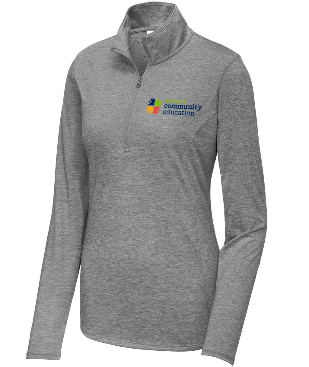 Community Ed Womens 1/4 Zip Pullover