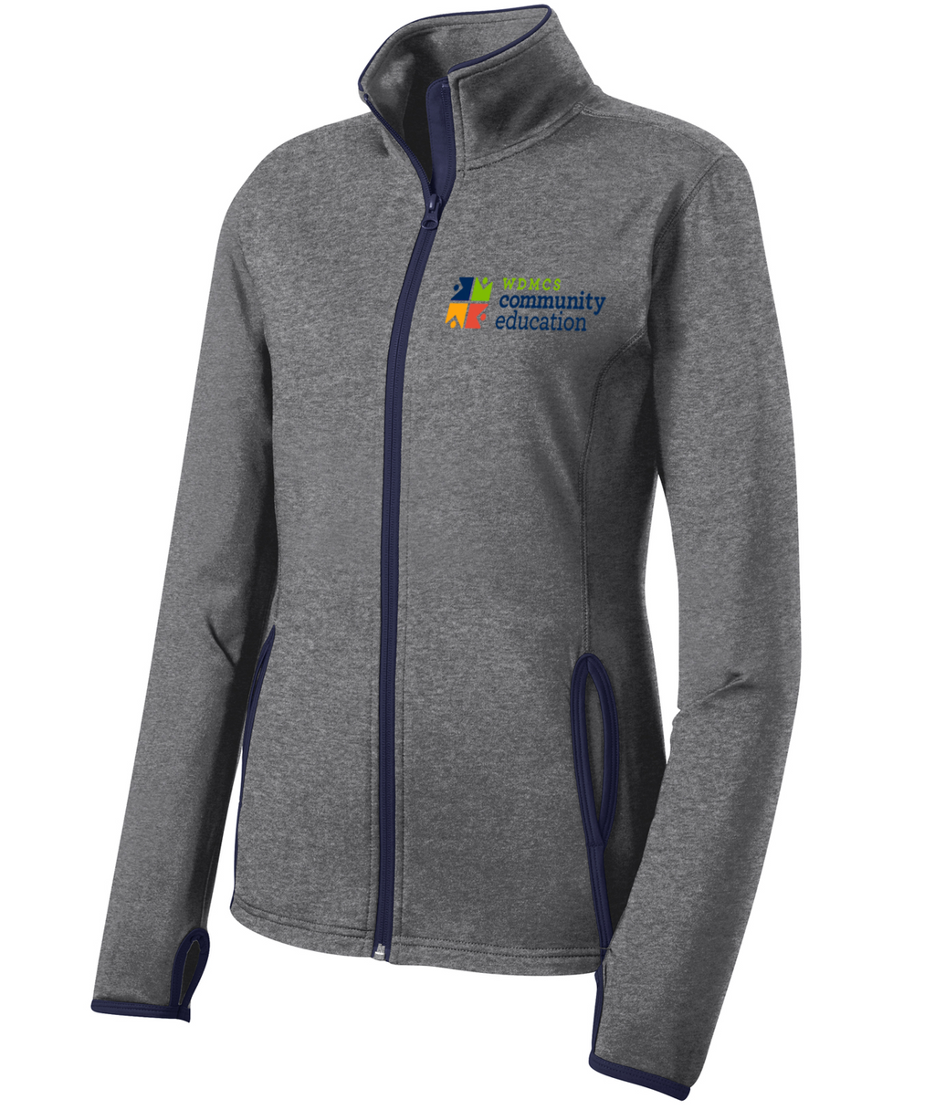 Community Ed Womens Performance Full-Zip Jacket