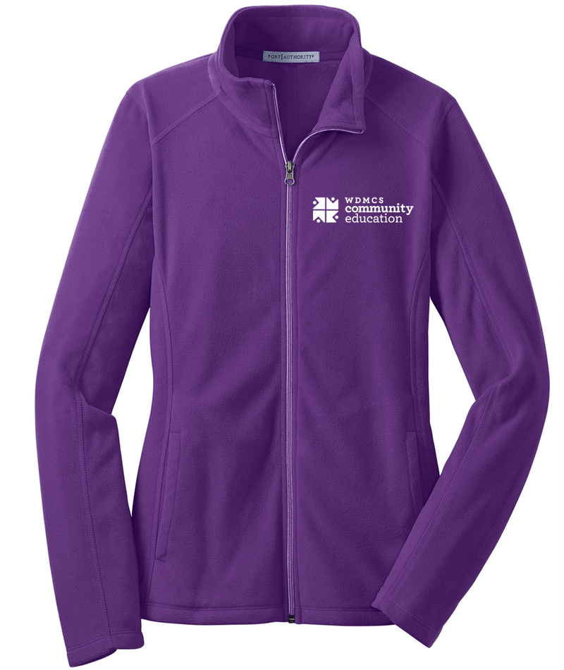 Community Ed Womens Microfleece Jacket