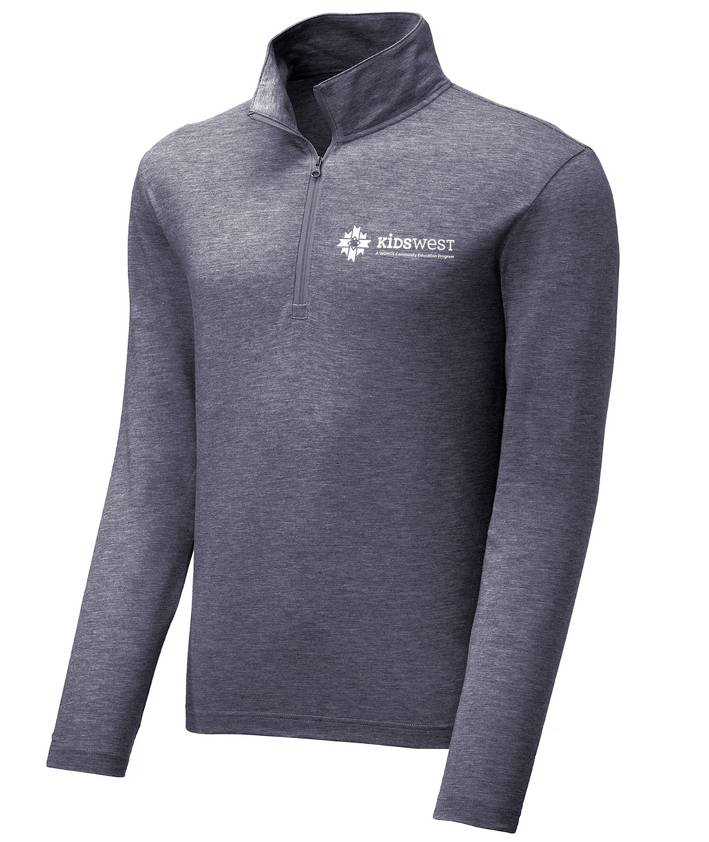 KidsWest Adult 1/4 Zip Pullover