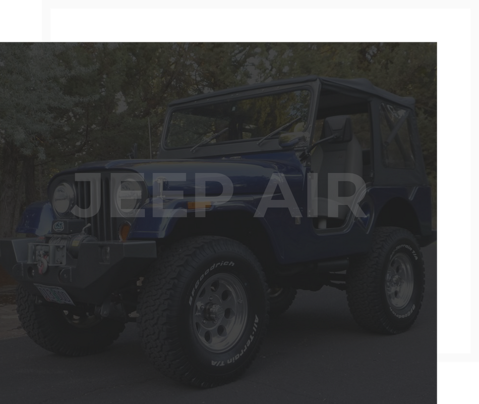 Jeep Air Jeep A C Components And Complete A C Kits For All Jeeps