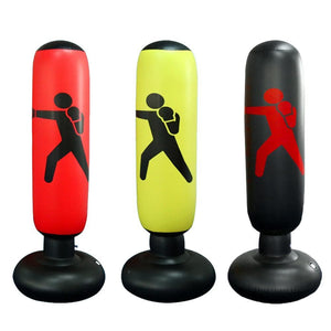 PVC Inflatable Boxing Bag Tumbler Fitness For Home