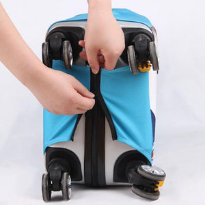 Christmas Protective Waterproof Luggage