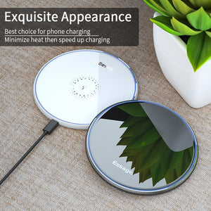 Wireless Charger For iPhone 11 Pro Xs Max X Xr 8 Induction Fast For Samsung S20