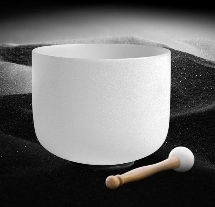 "Quartz Crystal Singing Bowl 8""  432hz"
