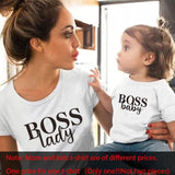 Black Boss T-Shirt Match All Family