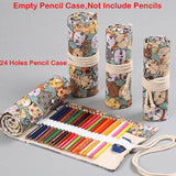 Cat Pencil Case Roll