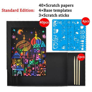 Enchand-  Magic Scratch Art Paper