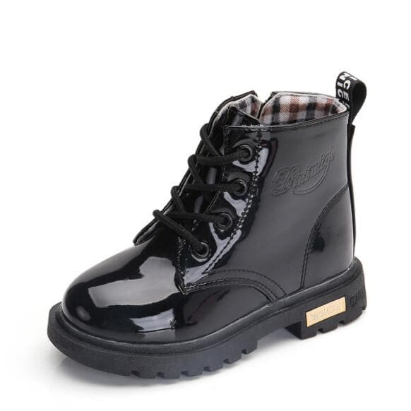 NEW Winter Boys & Girls Leather Boot
