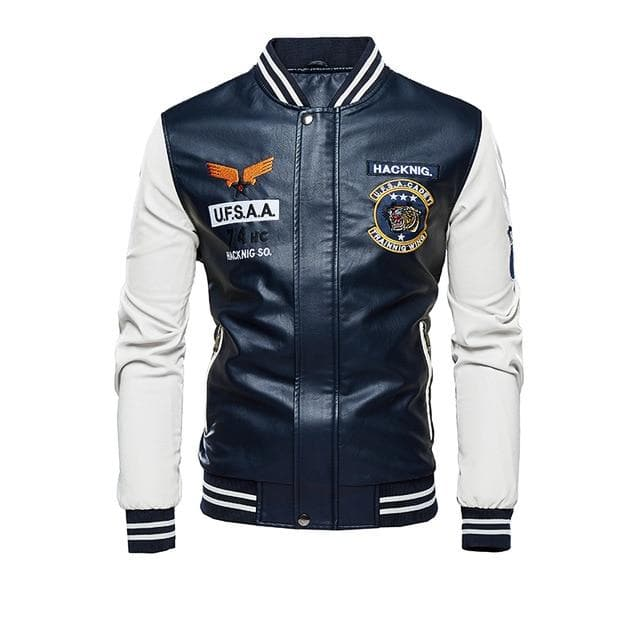 Slim Fit Casual Leather Jacket