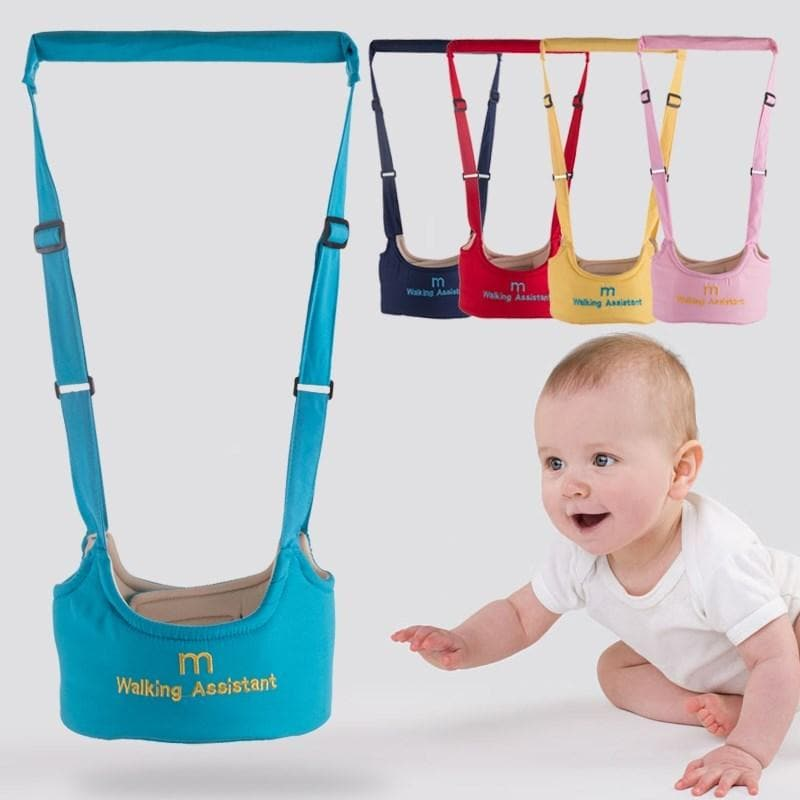 Shatter-resistant backpack walking baby safety