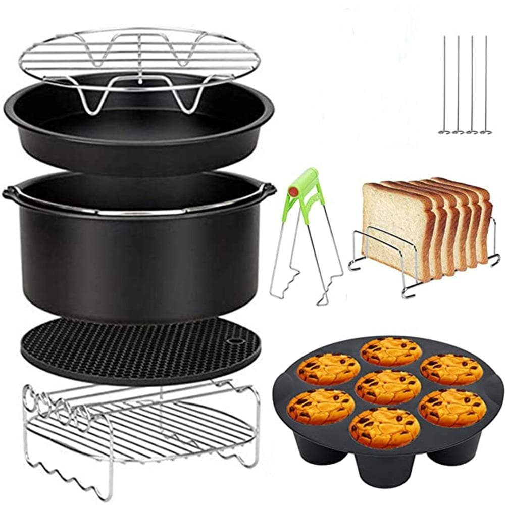 8pcs Air Fryer Accessories