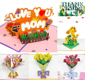 3D Pop-Up Mothers Day Cards Gifts