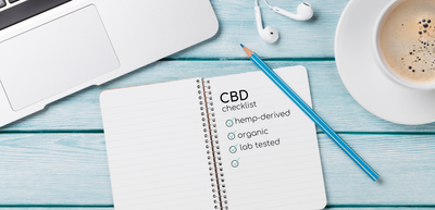CBD Shopping Checklist