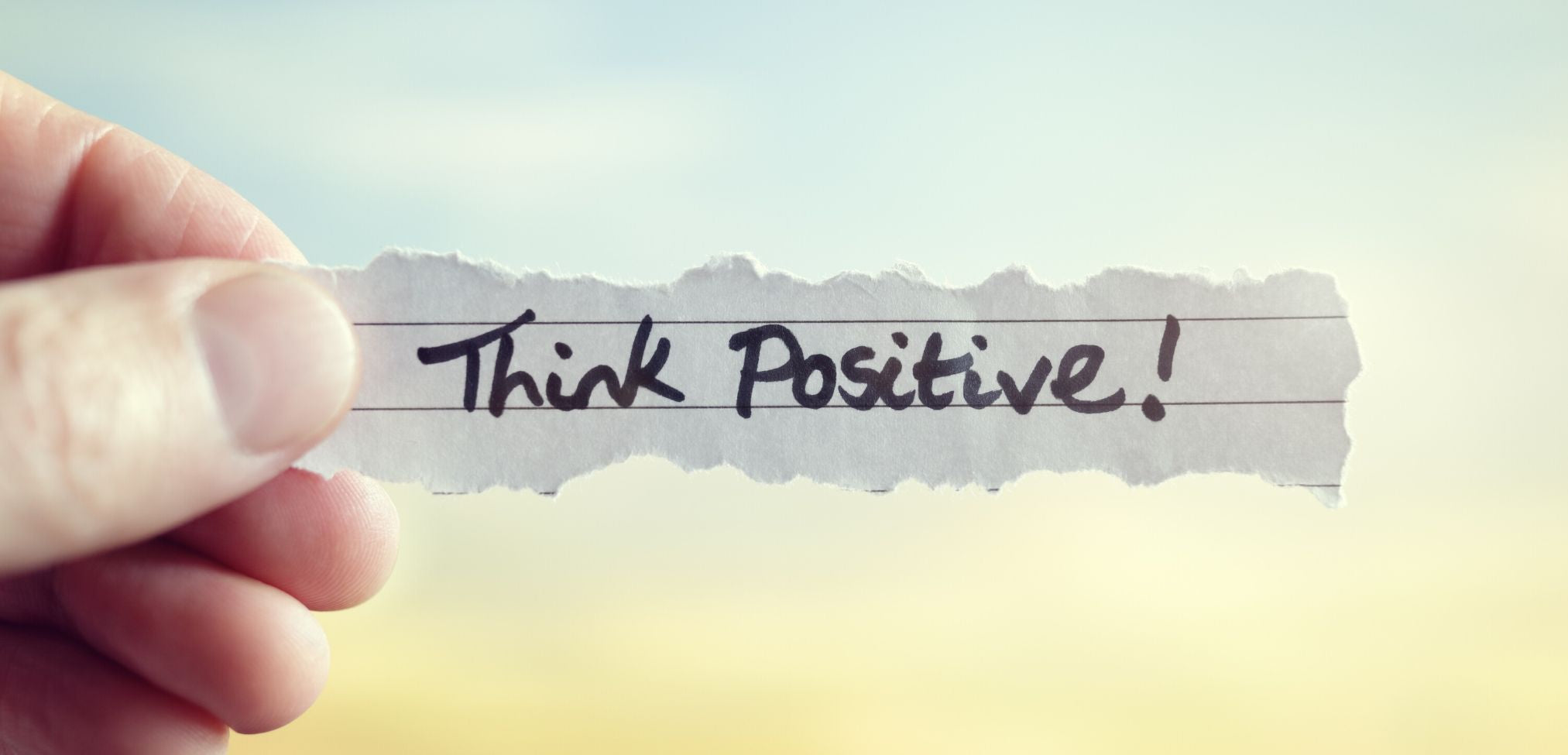 Positive Thinking Improves Mental Wellness